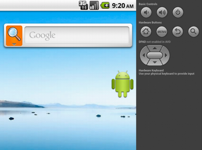 android desktop