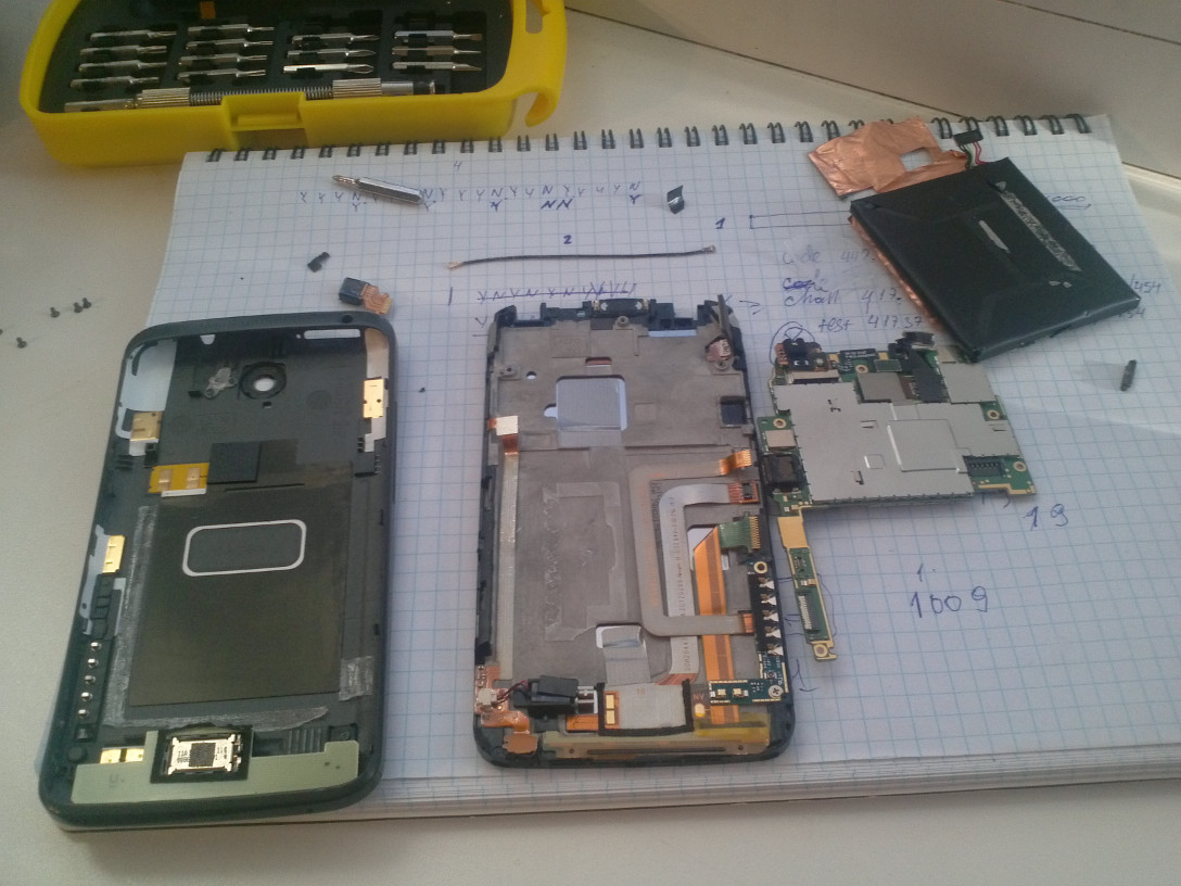 htc-one-x-disassembled